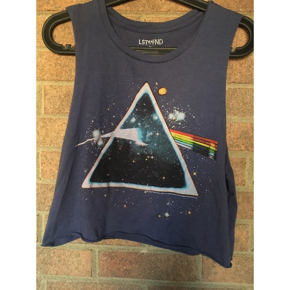 f92290dff19 American Eagle Outfitters Tops | Pink Floyd Ae Cropped Tank | Poshmark